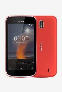 Nokia 1 8 GB (Warm Red) 1 GB RAM, Dual SIM 4G