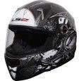 LS2 Sword Motorsports Helmet - L (Black, Silver)