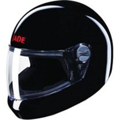 Studds Jade Motorbike Helmet - L (Black) Front View
