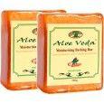 Aloe Veda Moisturising Bathing Bar - Sandalwood with Cedarwood Oil - Pack of 2