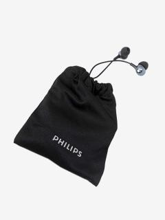 Philips PRO6105BK/00 Wired Earphones with Mic (Black)