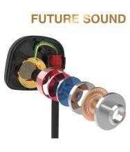 New KZ-ATE 3.5mm In Ear Earphone HIFI Metal Stereo Earphone With Mic