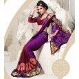 Real Sarees Kaal Chiffon Jaquard Pallu And Embroidery Butta Work