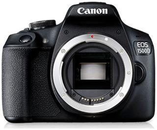 Canon EOS 1500D (Body) 24.1 MP DSLR Camera (Black)