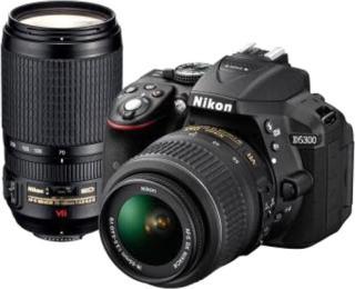 Nikon D5300 DSLR Camera Black