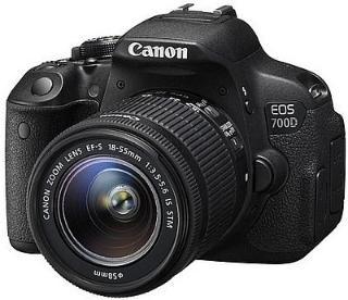 Canon 700D 18-55 IS II & 55-250 IS II Camera Black