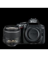 Nikon D5300 with AF-P DX NIKKOR 18mm-55mm f/3.5-5.6G VR Lens , Memory card and Bag