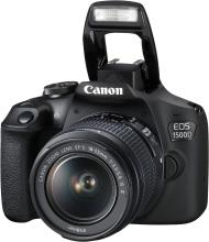 Canon EOS 1500D DSLR Camera Single Kit with 18-55 IS II lens (16 GB Memory Card & Carry Case)(Black)