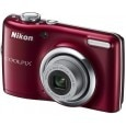 Nikon Coolpix L23 Point & Shoot Camera Red