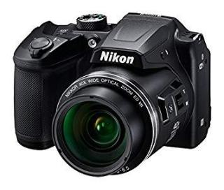 Nikon Coolpix B500 16MP Point and Shoot Camera with 40xOptical Zoom (Black) with HDMI cable + 16 जीबी SD card + Carry Case