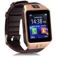HealthMax DZ09-16 Bluetooth Smartwatch Brown