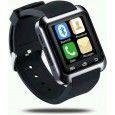 BOOM U8 Red Smartwatch Black