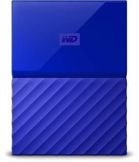 WD My Passport 4TB Portable External Hard Drive (Blue)