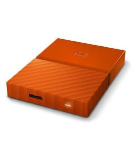 WD My Passport 2 TB External Hard Drive (Orange)