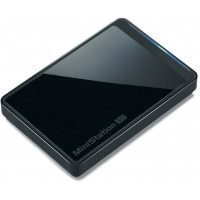Buffalo 500GB MiniStation Metro HD-PCTU3 USB 3.0 Portable Hard Disk Drive + Free Pouch