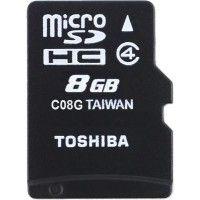 Toshiba MicroSD Card 8 GB 15 MB/s Class 4