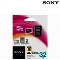 Sony Micro SD 32 जीबी Memory Card (with Adapter)