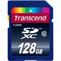 Transcend TS128GSDXC10 128 जीबी SDXC Flash Memory Card