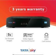 Tata Sky HD Box With Telugu Kannada Premium Sports English