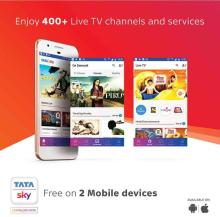 Tata Sky HD Box With One Month Odia Lite Pack