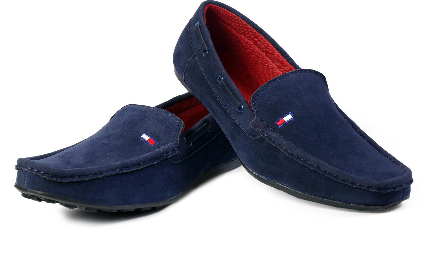 Red Rose Loafers(Blue)