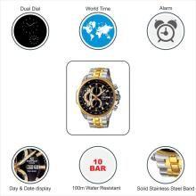 Casio EF-558SG-1AVDF Edifice Analog Watch - For Men