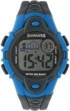 Sonata NH87012PP03 Digital Watch - For Men