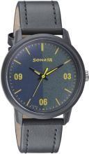 Sonata 77085PL03 Volt+ Analog Watch - For Men