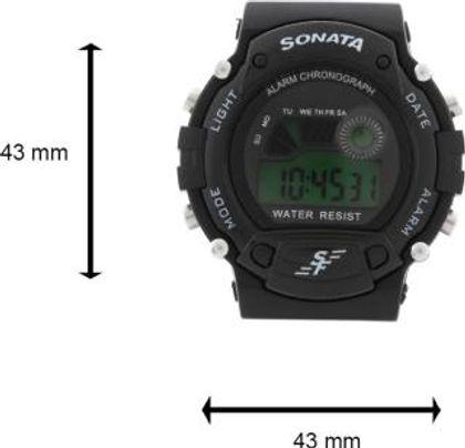 SonataNG7982PP03J Digital Watch - For Men