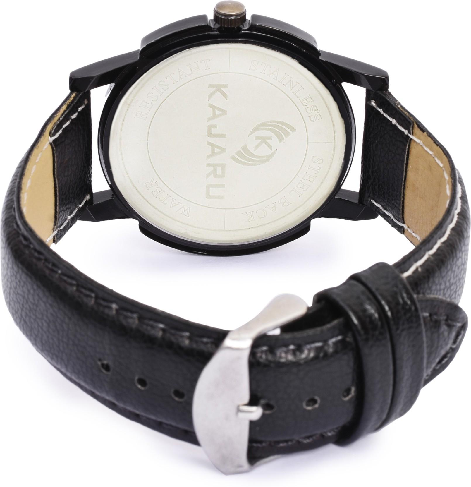 KAJARU KJR-5 BLACK DIAL Watch - For Men