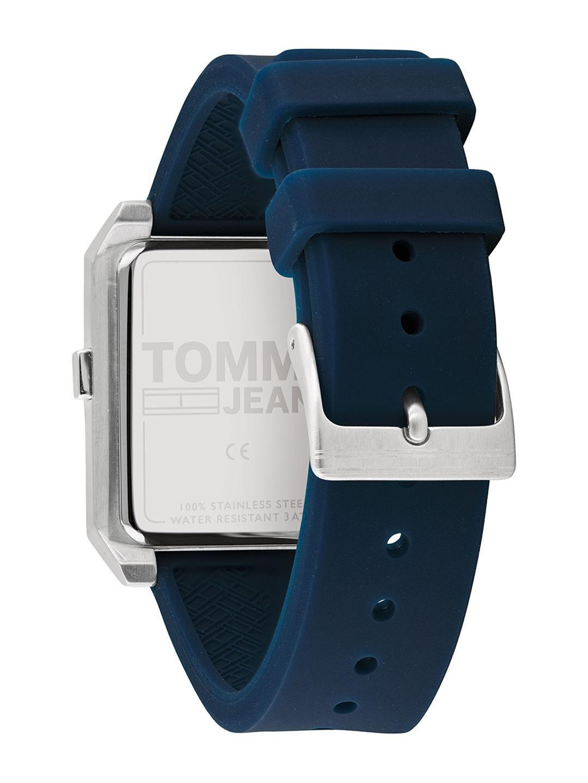 Tommy Hilfiger Tommy Jeans Men Silver-Toned Digital Watch TH1791673W