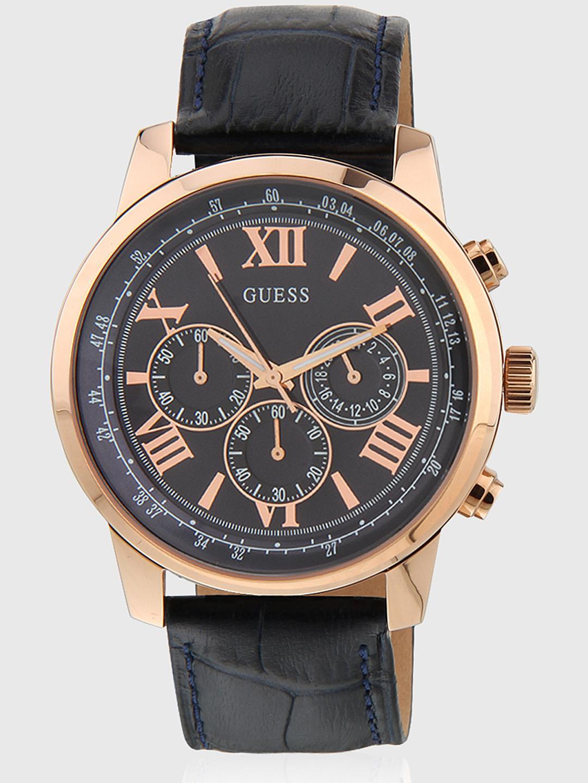W0380g5 Black/Black Chronograph Watch