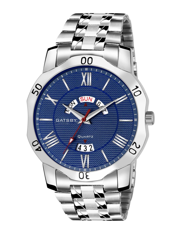 Gatsby Men Blue Analogue Watch GTG090