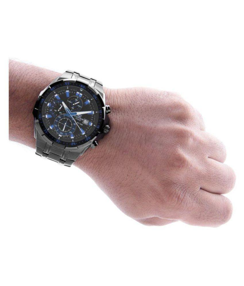 Men Fashion Black Analog Chronograph Watch