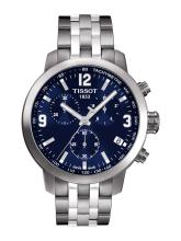TISSOT Men Blue PRC 200 Chronograph Watch T0554171104700