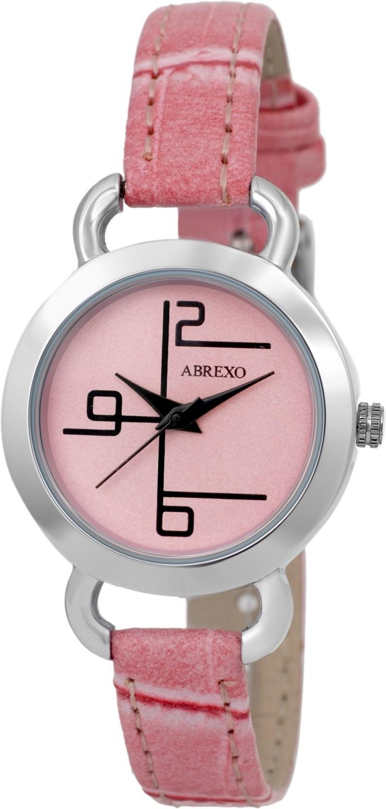 Abrexo Abx-2018-SLM-PINK MIDTRACK Watch - For Women