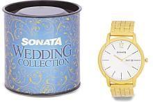 Sonata 77031YM06J Analog Watch - For Men