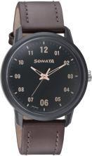 Sonata 77085PL02 Volt+ Analog Watch - For Men