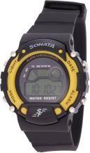 Sonata NG7982PP01J Digital Watch - For Men
