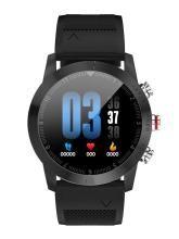 OPTA Unisex Black Bluetooth Fitness Smart Watch SB-118
