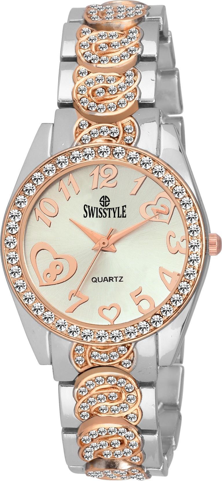 Swisstyle SS-LR874-WHT-CPR Watch - For Women