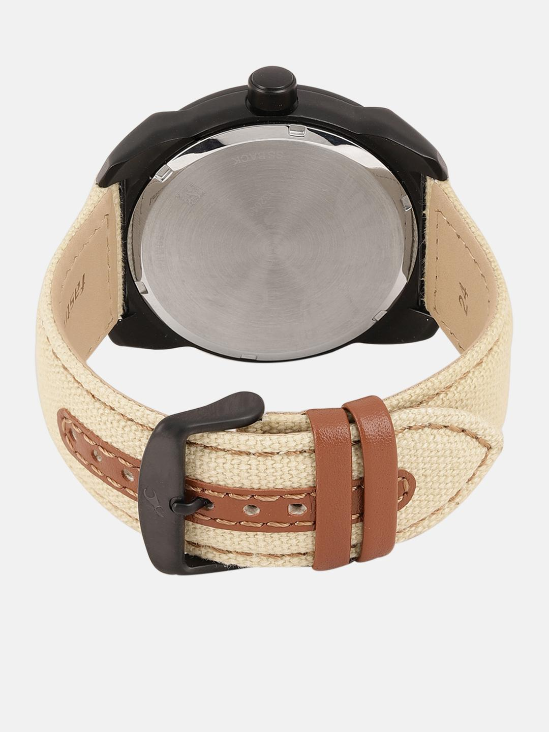 Fastrack Men Beige Analogue Watch NK9463AL06_OR2