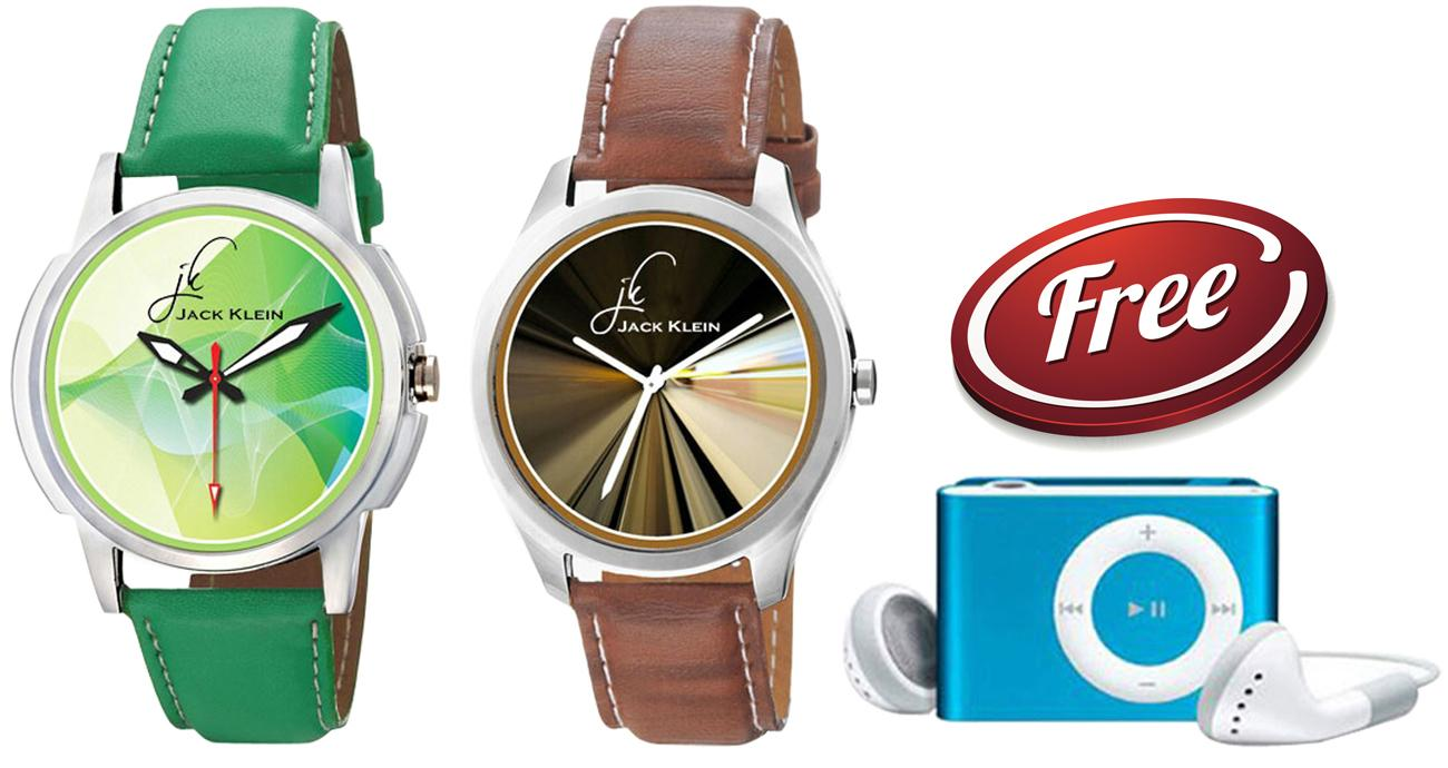 Special Combo of 2 Graphic Watches MP3