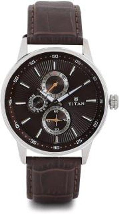 Titan 9441SL03 Smart Steel Analog Watch - For Men