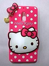 Qzey Nice Hello Kitty Case Cover For Nokia 6 - Pink