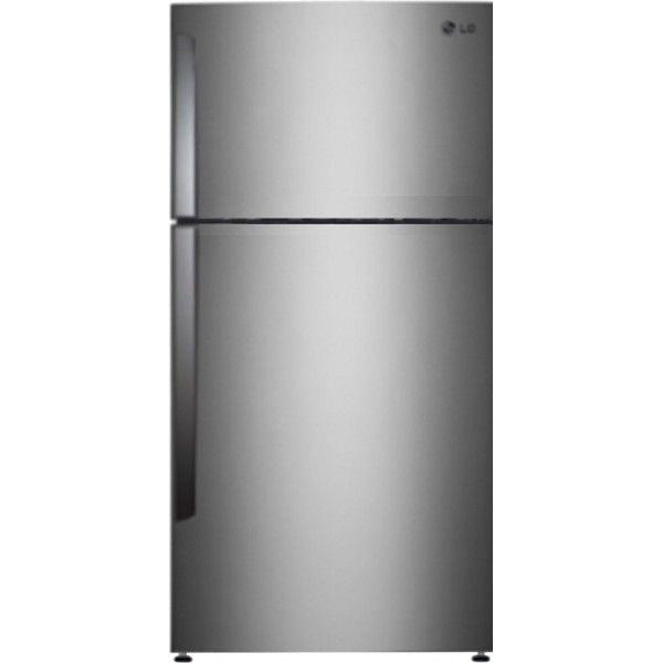 lg refrigerator price. lg gl-i472qnsm 420 l double door refrigerator noble steel lg price