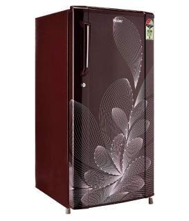 Haier 170 Ltr 3 Star HRD-1703BRO-E Single Door Refrigerator - Maroon