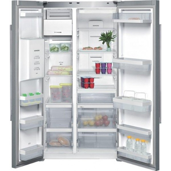 siemens ka62dv71 frost free side by side refrigerator 655. Black Bedroom Furniture Sets. Home Design Ideas