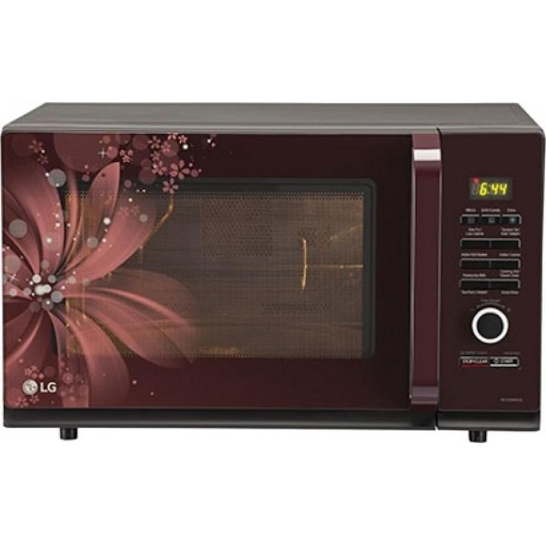 Lg Mc3286brum 32l Convection Microwave Oven Maroon