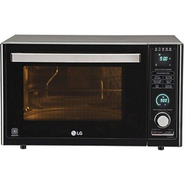 Lg Mj3286bfum 32l Microwave Convention Oven Black Price In